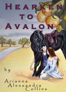 Hearken to Avalon Book Cover finalizing