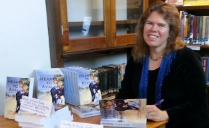 Hearken to Avalon Book Reading & Signing in Ashfield (2)