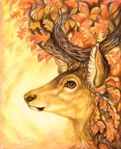Stag King in Autumn