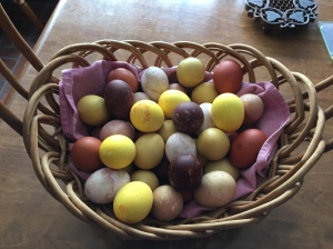 Ostara Eggs hand dyed by John P Buryiak