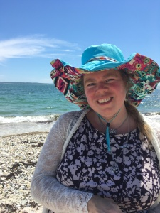 Arianna at the Ocean